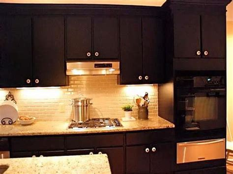 brown paint colors for kitchen cabinets brown painted kitchen cabinets your home 9319