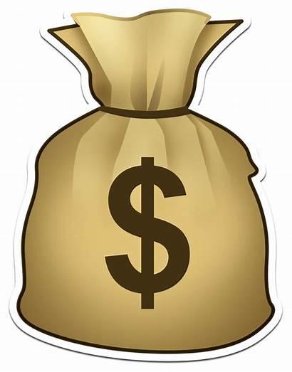 Money Transparent Bag Slot Clipart Emoji Machine