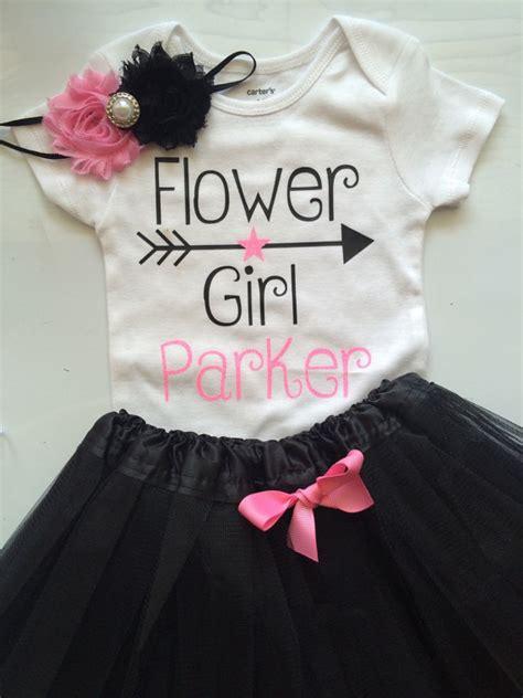 flower girl shirt flower girl gift wedding party gift