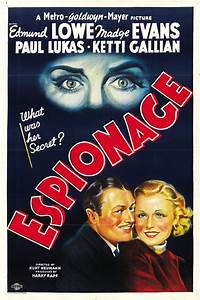 Espionage Movie Posters From Movie Poster Shop