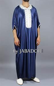 Tenue Blanche Homme : gandoura bleu nuit avec broderies blanche par ~ Melissatoandfro.com Idées de Décoration