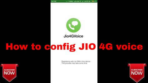 jio  voice  working solve jio  voice configuring registering problems youtube