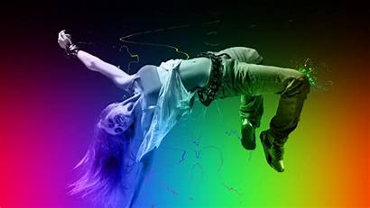 Dance Abstract Wallpapers Dancing Colors Dancer Px