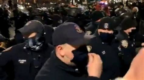New York Police Commissioner Defends NYPD Actions During ...