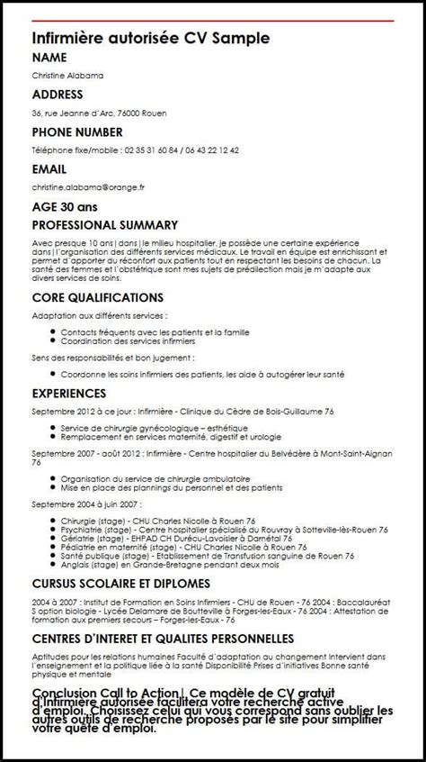 Modele De Cv Infirmiere Autorisee  Moncvparfait. Cover Letter For A Job With No Experience In That Field. Resume Sample College Student No Experience. Curriculum Vitae English Model Pdf. Resume Format Download Free. Resume Help Kansas City. Cover Letter Template Creator. Cover Letter For General Assistant. Resume Help Humber