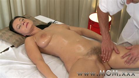 Step Mom Brunette Has The Massage Of Her Life Free Porn