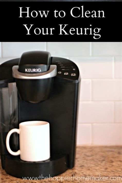 how to clean a coffee maker 17 best ideas about clean coffee makers on pinterest descale keurig 2 cup coffee maker and