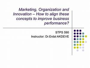 Marketing, Organization and Innovation – How to align ...