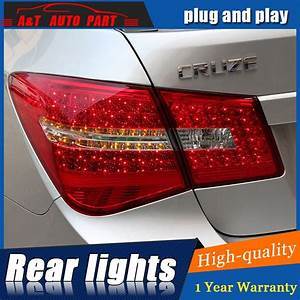 2009 2014 For Chevrolet Cruze Led Taillights For Cruze Led Rear Lights Car Styling Trunk Lamp