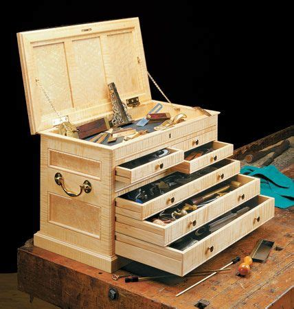 cabinetmakers tool chest woodsmith plans  images