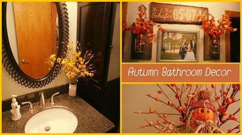 speed clean decorate   upstairs bathroom fall