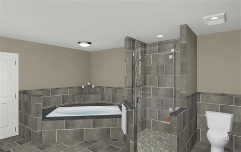 bathroom shower makeover  wall nj  design build
