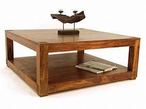 Table Basse En Solde : table basse carr e 100 palissandre ~ Teatrodelosmanantiales.com Idées de Décoration