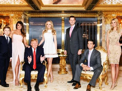 trump donald rich melania ivanka barron jr president eric don tiffany forbes estimated losing us600 156th plunges 248th million spot
