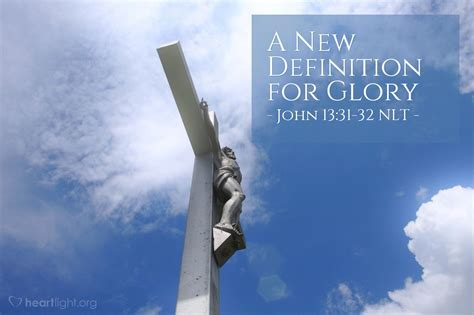 definition  glory john    jesus