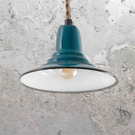 e2 contract lighting products blue industrial pendant