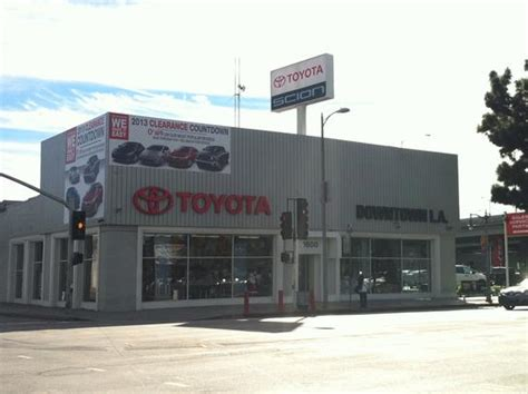 Toyota Downtown La by Toyota Of Downtown Los Angeles Los Angeles Ca 90015 Car