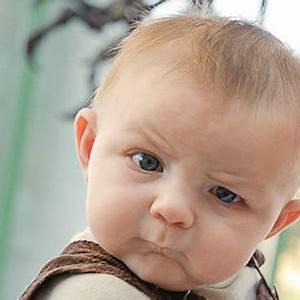 confused baby look | Meme Generator
