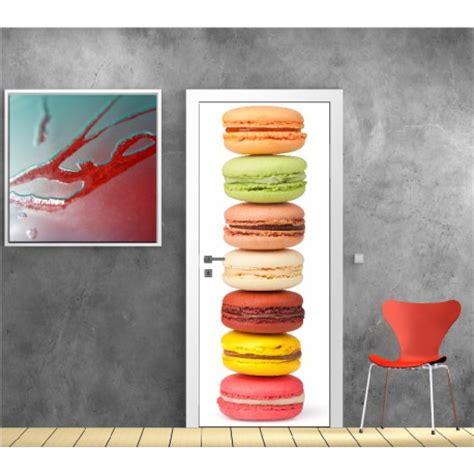 posters cuisine affiche poster pour porte cuisine macaron réf 9511