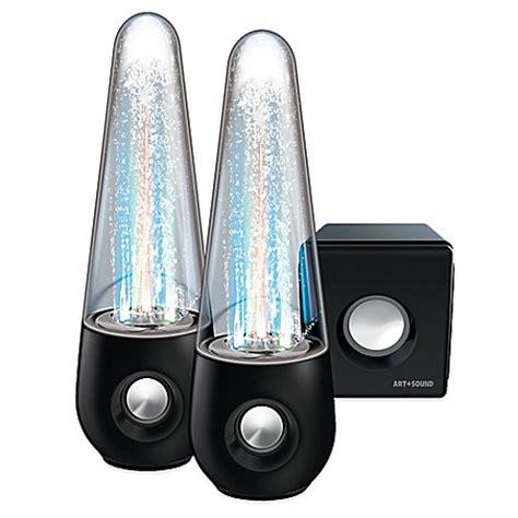 water light speakers led water bluetooth 174 speakers bed bath beyond