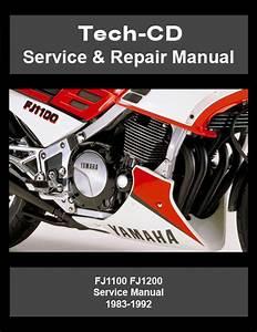 Yamaha Fj1100 Fj1200 Service  U0026 Repair Manual 1983