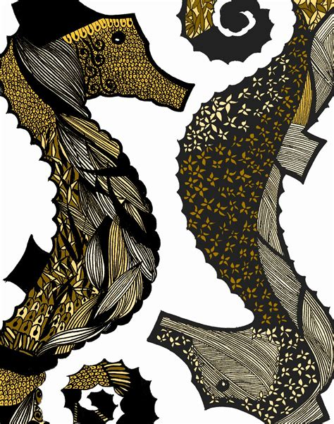 9twentyeight: Seahorse : My New Illustration
