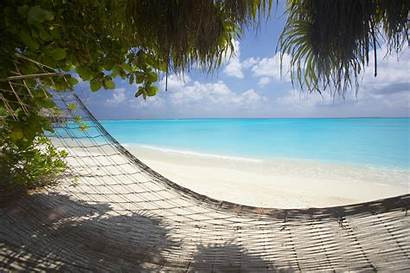 Sand Beach Hammock Island Maldives Hideaway Dhonakulhi