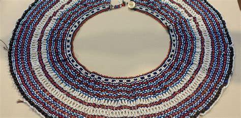 xhosa beadwork african beads necklace bead work