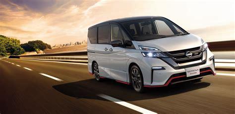 nissan japan nissan serena nismo is the gt r of minivans in japan