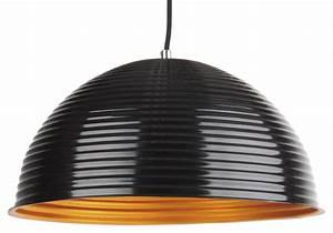Deckenlampe Schwarz Metall : design h ngelampe pendellampe metall gold schwarz wei ~ Lateststills.com Haus und Dekorationen
