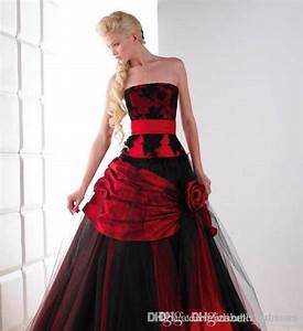 robe mariee rouge et noir all pictures top With robe noir et rouge