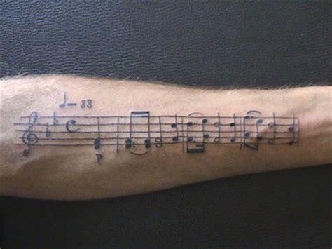 Partition (avant Bras)  Mes Tattoos