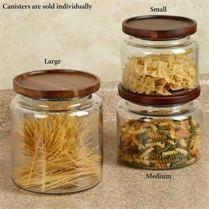 canister kitchen calvina stackable glass kitchen canisters