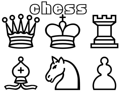 coloring pages chess games coloring primary pages