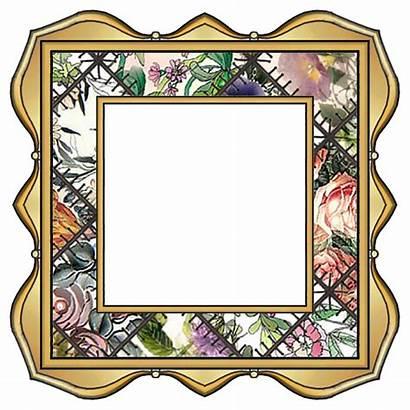 Frame Clipart Fancy Clip Patchwork Frames Border