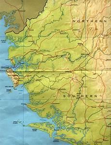 Sierra Leone Maps - Perry-Castañeda Map Collection - UT Library ... Sierra Leone