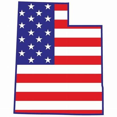 Utah State Pioneer American Flag Sos Fireworks