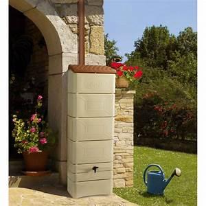 Réserve D Eau De Pluie : r cup rateur d 39 eau mural 300 litres ~ Dailycaller-alerts.com Idées de Décoration