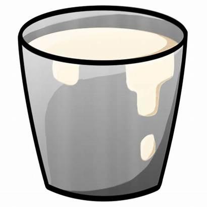 Bucket Milk Minecraft Transparent Cup Clipart Glass