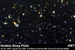 Hubble Deep Field High Resolution (page 4) - Pics about space