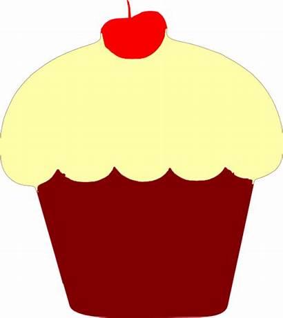 Cupcake Velvet Clipart Clip Mint Cupcakes Vector