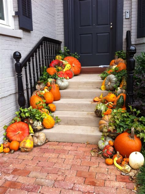 fall door decorating ideas 47 cute and inviting fall front door d 233 cor ideas digsdigs