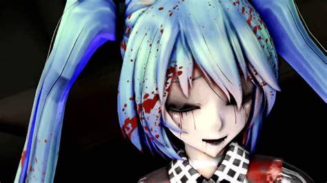 Mmd The Zombie Song Hatsune Miku Youtube