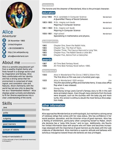 Template De Cv Gratuit by Twenty Seconds Resume Cv Template Cv