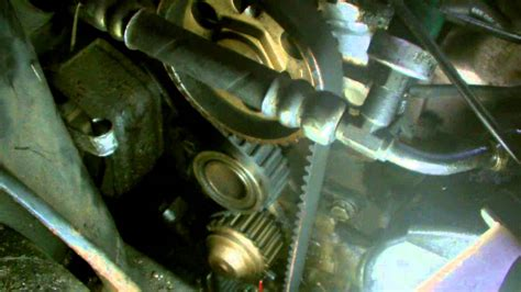 ford timing belt replacment part 2