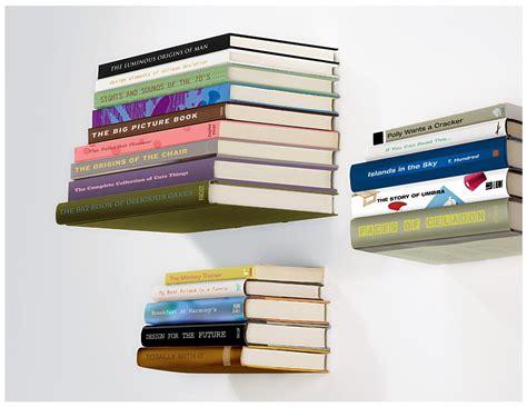 concealed book shelf umbra conceal invisible floating book shelf kitchen