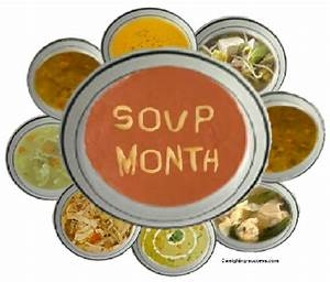 Keeping it Simple (KISBYTO): National Soup Month