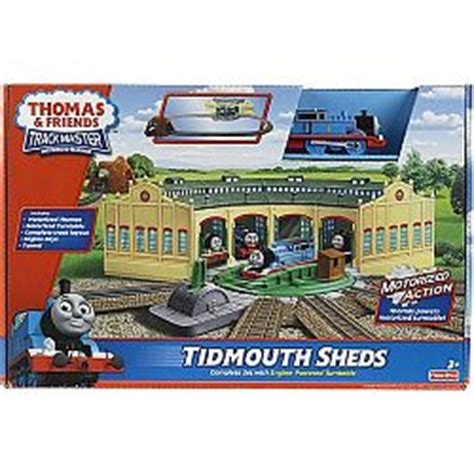 thomas friends trackmaster tidmouth sheds playset