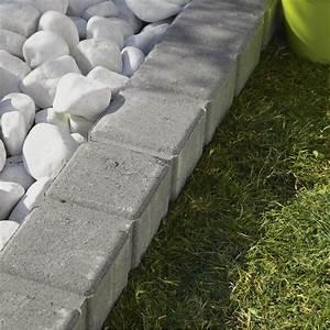 Bordure De Jardin Leroy Merlin : bordure droite seine pierre reconstitu e gris x ~ Melissatoandfro.com Idées de Décoration