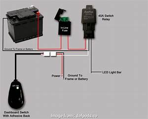 How To Wire A  Light  Switch Nice Wiring Diagram Relay  Road Lights Fresh  Light  Wiring  Light